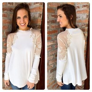 nwt // free people daniella top
